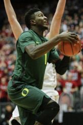 Oregon freshman Jordan Bell is a young but dynamic player.