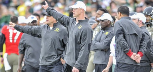 Frost has guided the Oregon offense to new heights in his second year as offensive coordinator.