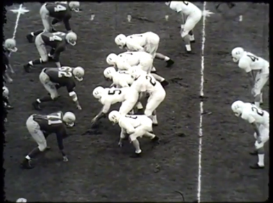 In 1958, Oregon football went to the Rose Bowl to face off against the Ohio State Buckeyes.