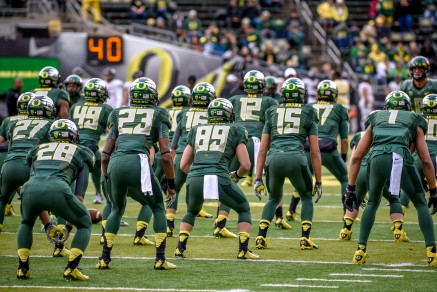 This Oregon team is united and focused on the ultimate prize.