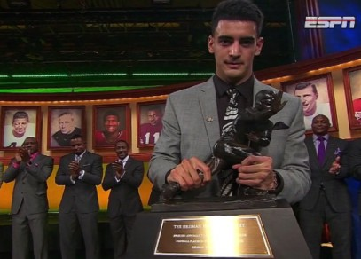 Marcus Mariota became the greatest Oregon Duck ever in 2014. Racking up the awards and leading the Ducks to the national title.