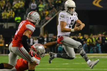 Mariota gave it his all.