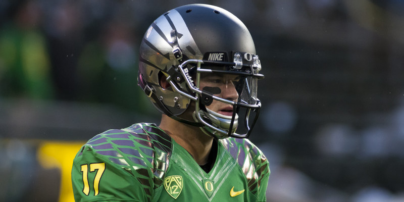 Lockie will have the advantage going into next season. Will Vernon Adams be able to beat him out?
