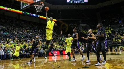 "This is one of the few highlights C Jordan Bell had for the Ducks. If Oregon wants to ""Win The Day"", Bell is going to need to be a bigger influence."