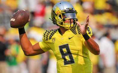Mariota looked very consistent at the combine.