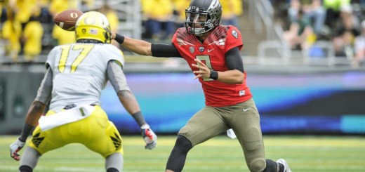 Will the next Oregon starting quarterback give us a preview of his own stardom in the Spring Game following in the career of Marcus Mariota?!