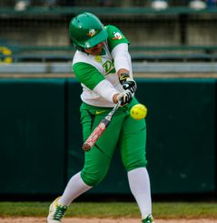 Oregon is batting exceptionally well this season.