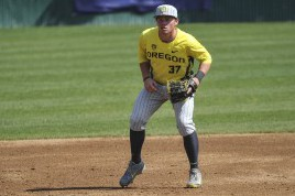 Tolman (37) is a third-team All American and the Ducks team leader