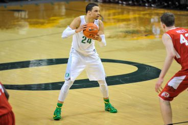 Dillon Brooks led the way with 19 points and  seven rebounds.