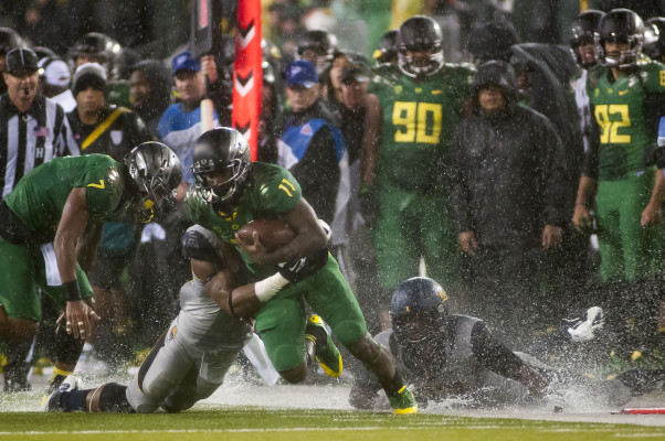Having Bralon back adds another dimension to the Oregon offense.