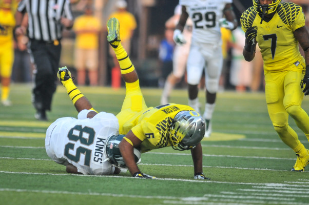 Nelson will bring a nice dose of physicality to the Oregon defense.