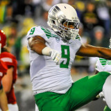 Oregon Defensive End Arik Armstead.