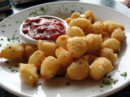 The Wisconsin Green Bay Fighting Fried Cheese Curds played, and lost, in the NIT
