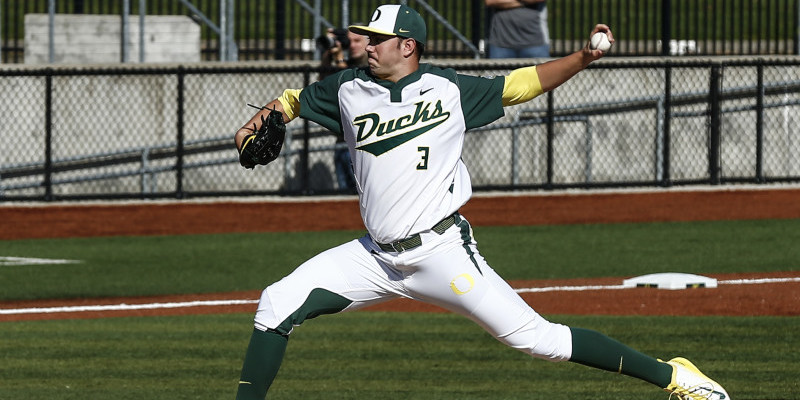 Oregon Baseball vs. St John's 3-7-2