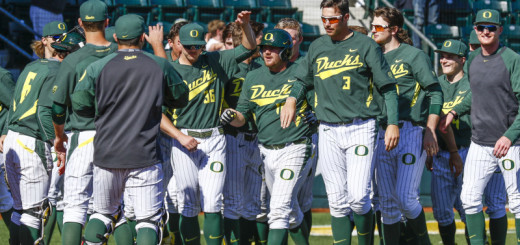 Oregon Baseball vs. St John's 3-8-41