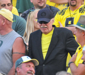 Mr. Knight could very well be Oregon's strongest asset for recruiting