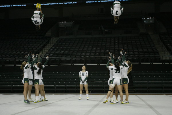 More UO stunt work with fliers and bases.