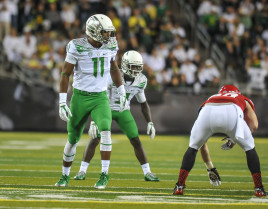 Justin Hollins adds talent to a deep linebacker group ready to step up