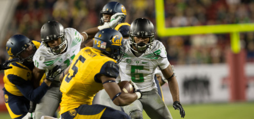 Charles Nelson will be breaking up plays for the Ducks in 2015