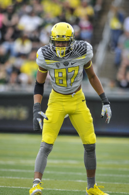 Darren Carrington in last year's uniforms