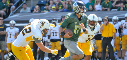 After two seasons as backup  to Marcus Mariota, the expectations are high for Jeff Lockie to be the starting quarterback for Oregon