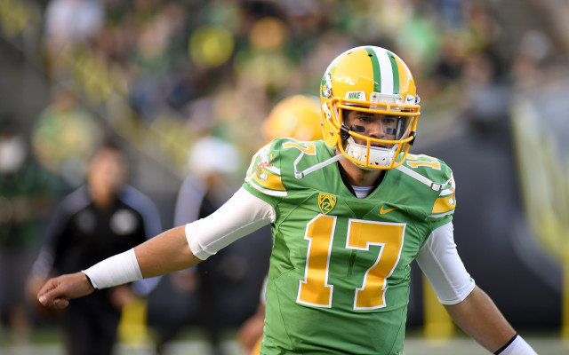 Lockie has experience with the Oregon system, but will it be enough to lock down the starting qb gig?