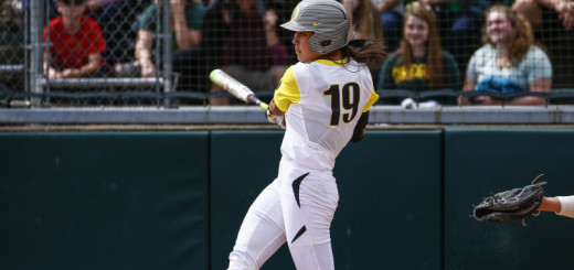 Oregon Softball vs. ASU-23