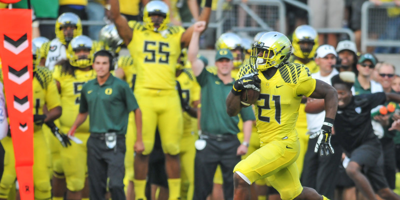 Royce Freeman became an elite running back last year as a true freshman.