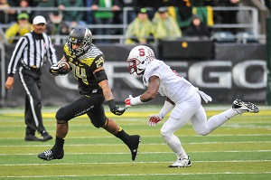 Thomas Tyners 21-yard 3rd quarterTD run against Stanford was a defining moment for the 2014 Ducks.