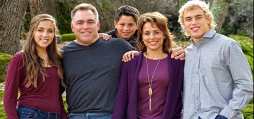 The Cusano Family: David, Pam. Sam, Izzy and Frank