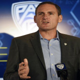 Pac-12 Commissioner Larry Scott. Photo: Kelvin Kuo-USA TODAY Sports