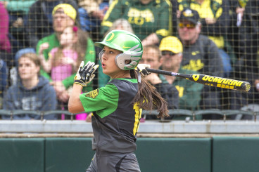 Takeda capped off the day with a home run as Oregon moves on to the Super Regionals.