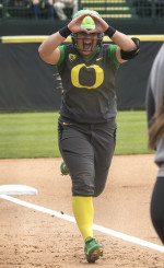 The Ducks never looked back after Hailey Deckers two run home run.