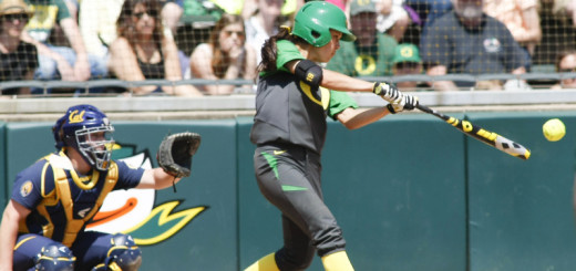 Oregon vs Cal Softball game 3 207