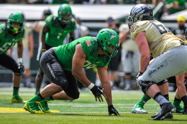 Canton Kaumatule is one of the most exciting defensive prospects Oregon has seen in a while.