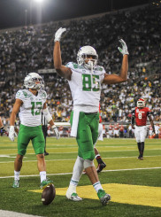 Brown's size and athleticism makes him one of the elite college football tight ends.
