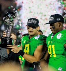 Oregon won 13 games last season, the most in school history. No one said it would be easy.