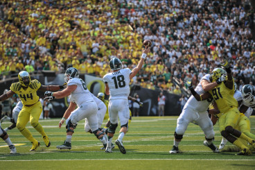 Oregon will have a tough test again facing Connor Cook and Michigan State