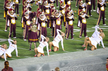 No matter how many times they play it, the USC band cannot compete with Arizona.