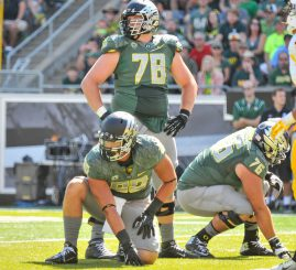Cameron Hunt bring experience to a young offensive line.