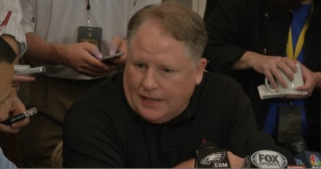 Chip Kelly expounding