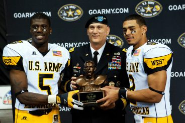 Dorial Green-Beckham received co-MVP honors for the U.S. Army All American Bowl in 2012.