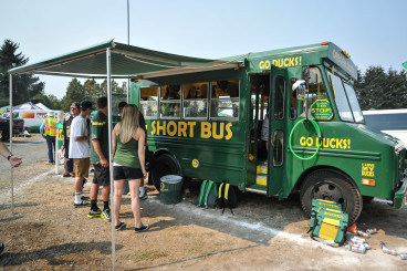 Do you think you could have afforded a bus like this in college?