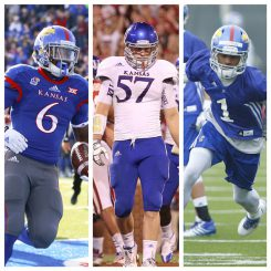 Corey Avery and Rodriguez Coleman have been dismissed from the KU football team. Linebacker Kyle Love announced his retirement shortly after the dismissals were made official