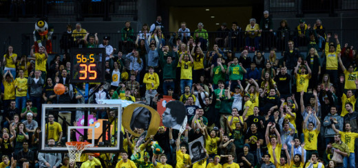 "Oregon's ""Pit Crew"" has been known to force many errant free throws."