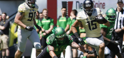 Jalen Brown had 3 catches for 114 yards in the '15 Spring Game.