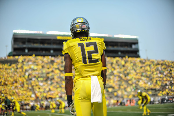 Chris Seisay is out to prove that this Ducks secondary can wreak havoc in the Pac-12.