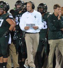 Head Coach Mark Dantonio knew his players would be ready for Oregon