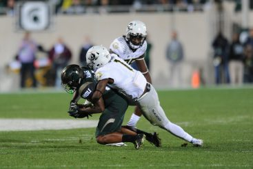 With a superb physical presence, Springs is what the doctor ordered for Oregon's secondary.
