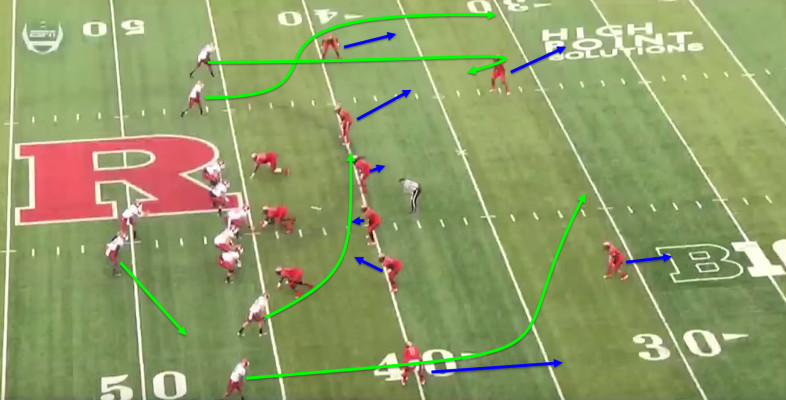 Cougar receivers are great at finding holes in the zone.